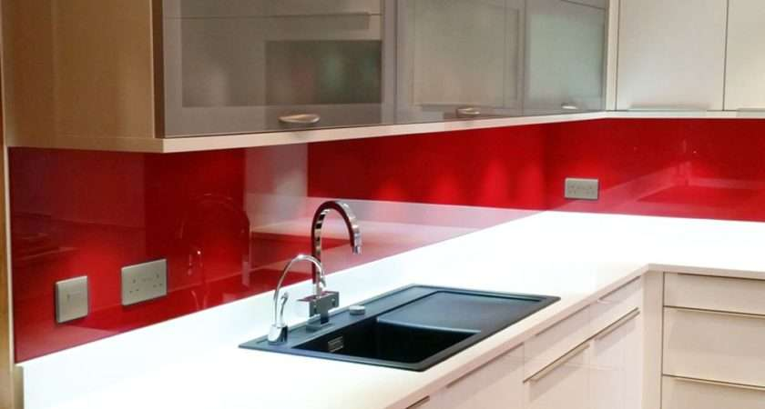 Glass Painted Kitchen Splashbacks Any Colour