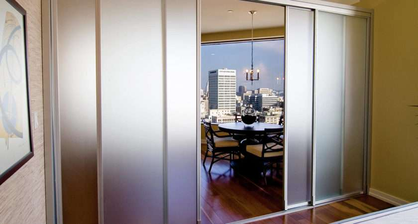 Glass Room Dividers Frosted