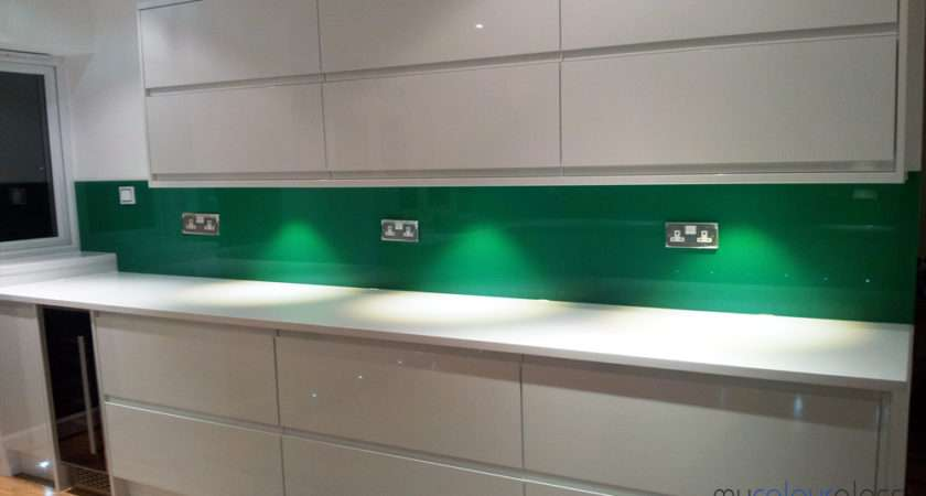 Glass Splashbacks Alternative Tiles Granite Paint