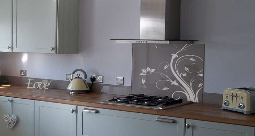 Glass Splashbacks Items Installed Walls Above Sink