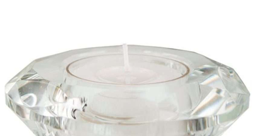 Glass Tea Light Holders Confetti
