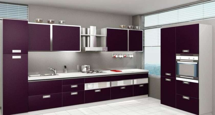 Gloss Lacquer Teamed Aluminium Give Very Modern