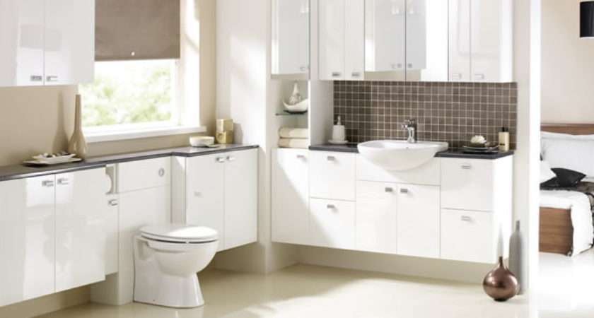 Gloss White Bathroom Furniture Web Value