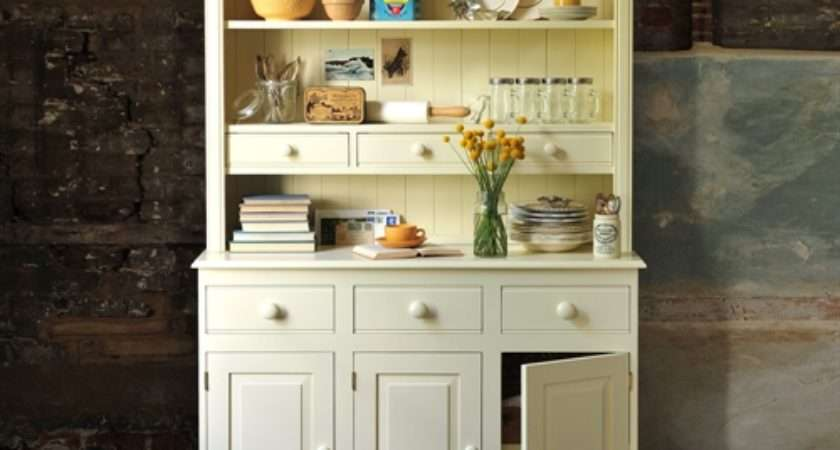 Gloucester Painted Pine Kitchen Dresser Including