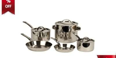 Gordon Ramsay Professional Stainless Steel Cookware Features