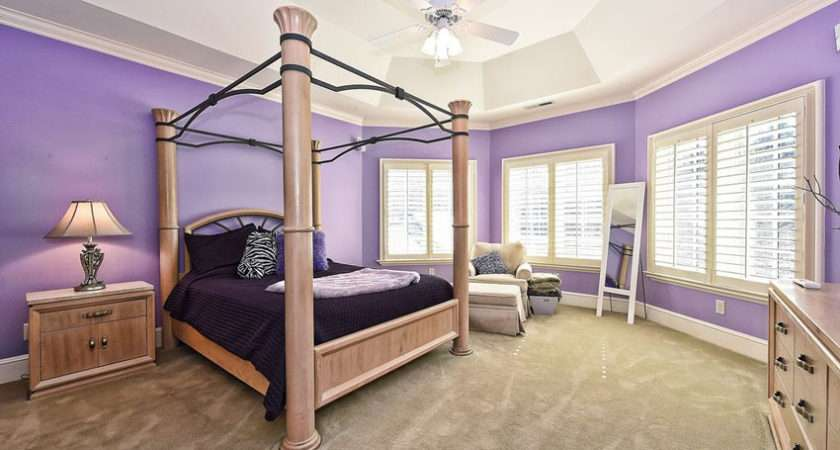 Gorgeous Purple Bedroom Ideas Designing Idea