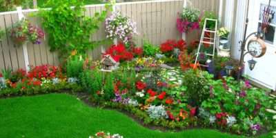 Great Decorations Landscaping Ideas Small Flower Beds