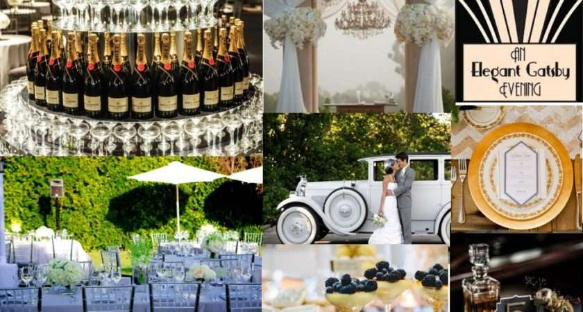 Great Gatsby Style Your Wedding