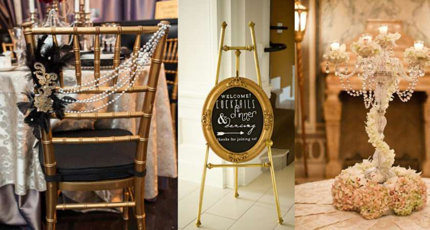 Great Gatsby Wedding Decor Inspiration Ideas