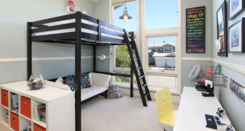 Great Loft Bed Design Ideas Small Kids Bedrooms