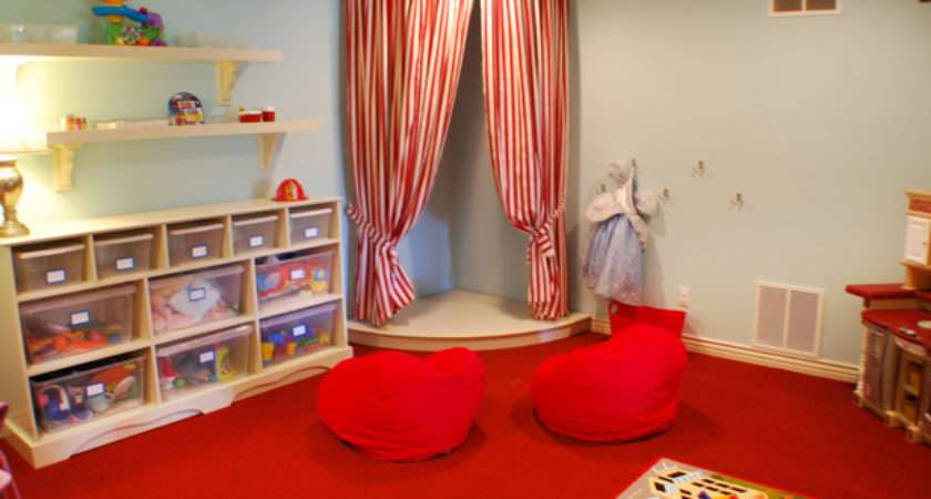Great Theme Decor Ideas Kids Playrooms