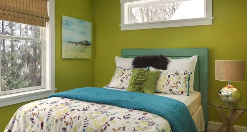 Green Bedroom Paint Colors Small Spaces Try