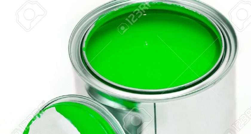 Green Clipart Paint Can Pencil Color