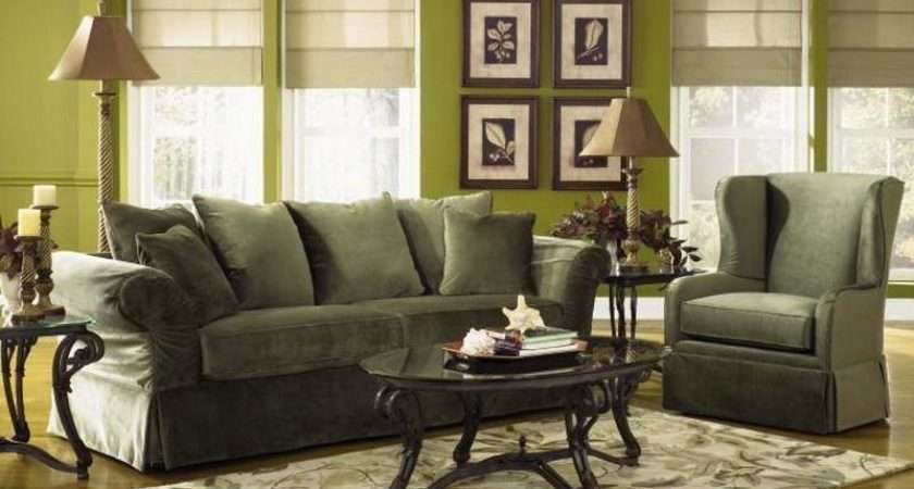 Green Living Room Ideas Written Piece Which Arranged Within