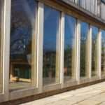Green Oak Frame Sunroom Conservatory Glazing English