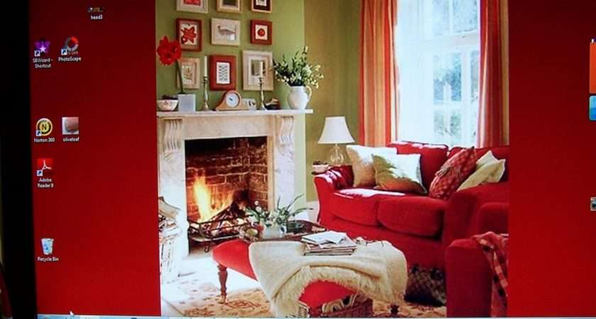 Green Red Living Room Further Furniture Sage