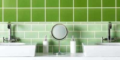 Green Tile Stickers Ideas