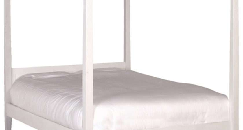 Greenwich White Four Poster Bed
