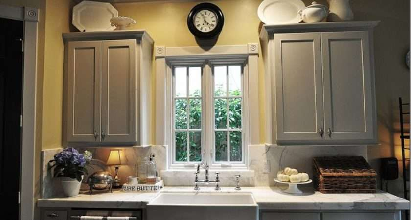Grey Cabinets Yellow Walls Home Decor Pinterest