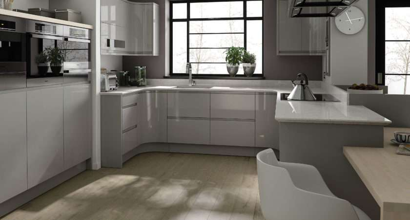 Grey Kitchen Colors White Cabinets Islands Carts Bakeware
