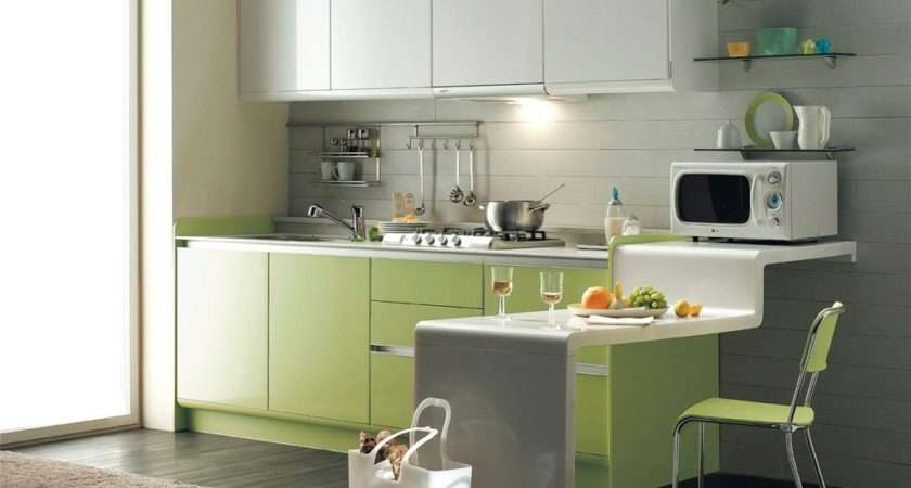 Grey Kitchen Green Cabinets Home Advice
