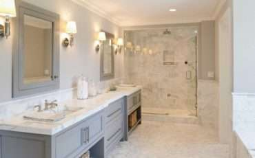 Grey Marble Bathroom Tile Ideas
