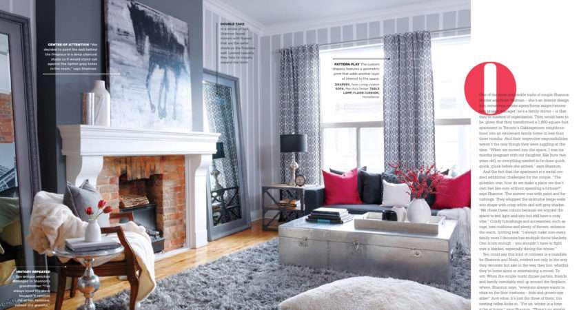 Grey Matters Red Pops Interiors Color