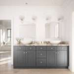 Grey Shaker Ready Assemble Bathroom Vanities
