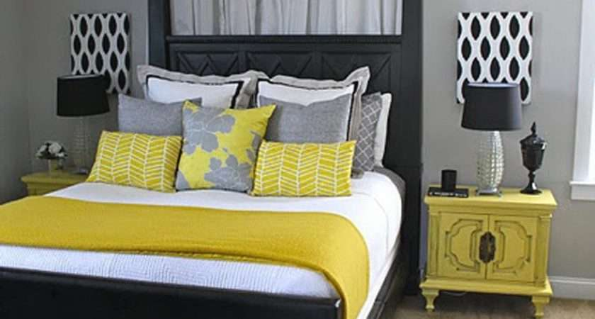 Grey Yellow Bedroom Fresh Bedrooms Decor Ideas