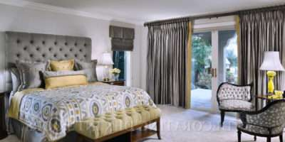 Grey Yellow Bedrooms Peenmedia