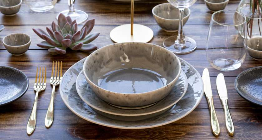 Grigio Collection Classic Crockery Event Hire