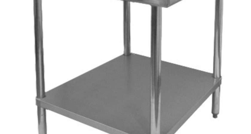 Gsw All Stainless Steel Commercial Flat Top Work Table