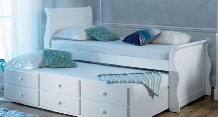 Guest Beds Artisan Captains White Bed Storage