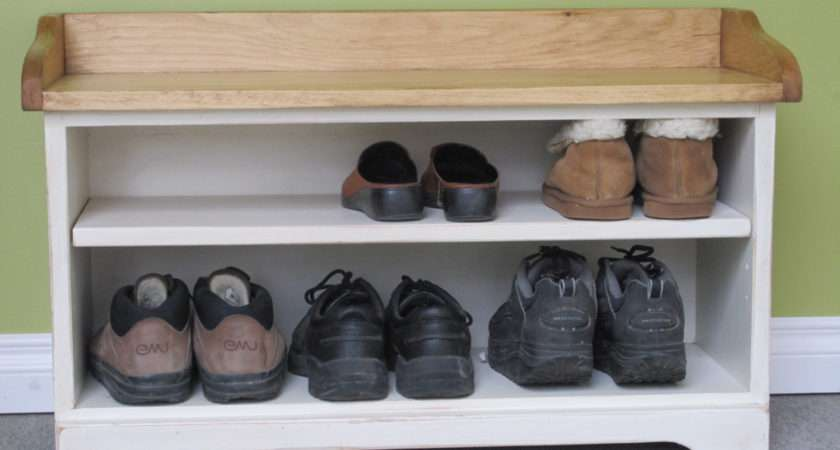 Hall Table Shoe Storage
