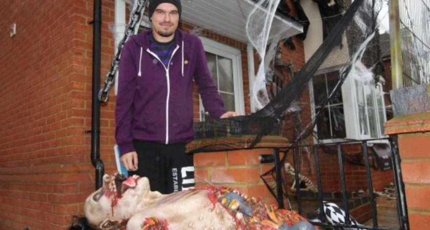 Halloween Decorations Fund Cancer Research Deemed Too