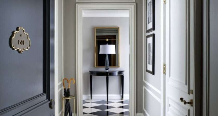 Hallway Doors Black Glass Sliding Examples Founterior