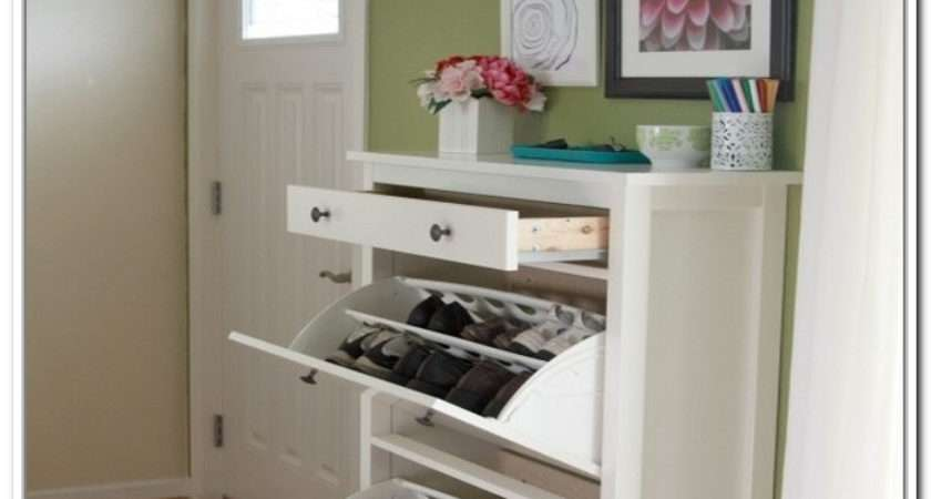 Hallway Shoe Storage Ideas Home Design
