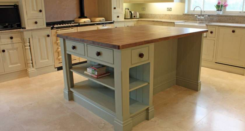 Hand Painted Kitchen Island Bespoke Kitchens Fitted Wardrobes