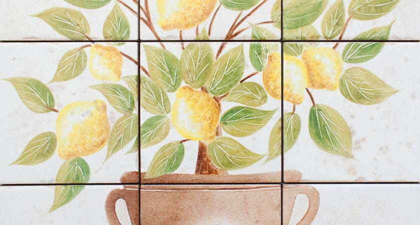 Hand Painted Tiles Years Kitchen Bathroom