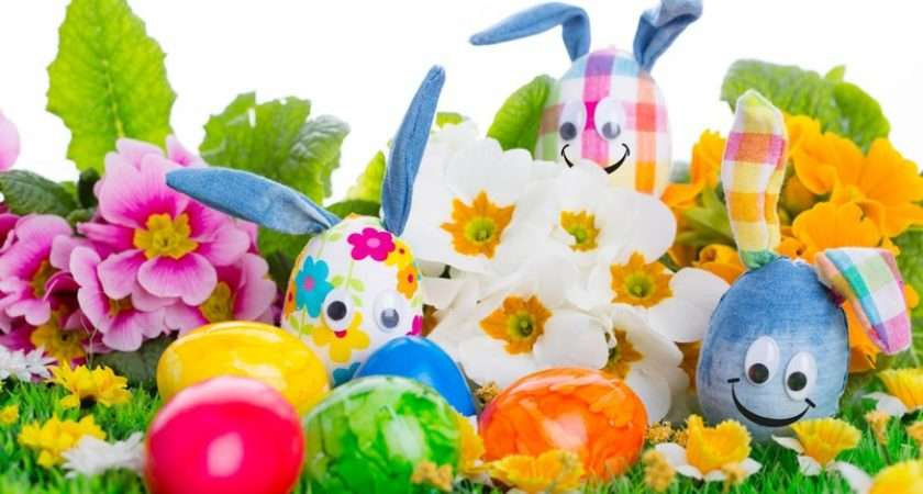 Handcrafted Easter Eggs Wallpaperfx