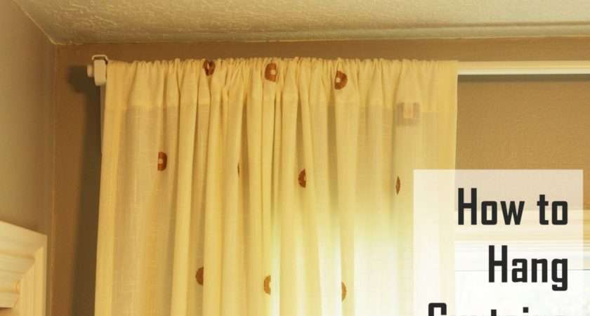 Hang Curtains Basic Guide