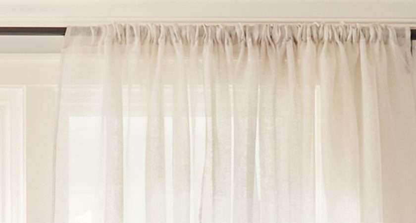 Hang Curtains Guide Crate Barrel