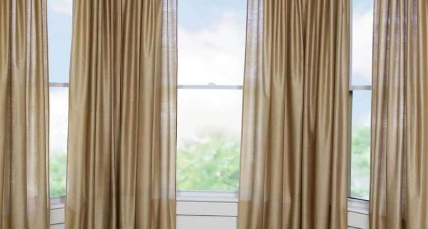 Hang Curtains Square Bay Window Curtain