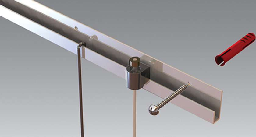Hanging Rail Wall System