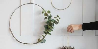 Hanging Wire Ring Decoration Three Sizes