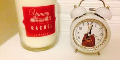 Hare Alarm Clock John Lewis Beautiful Personalised Candle