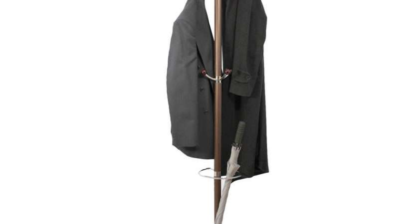 Hat Umbrella Coat Stand Clothes Rack Marble Base