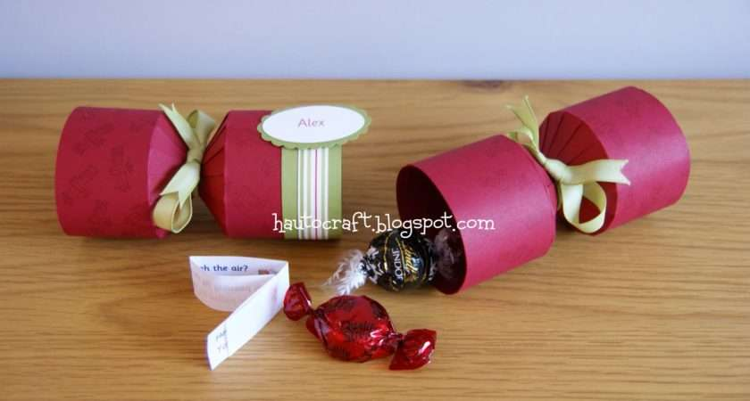 Hau Craft Christmas Crackers