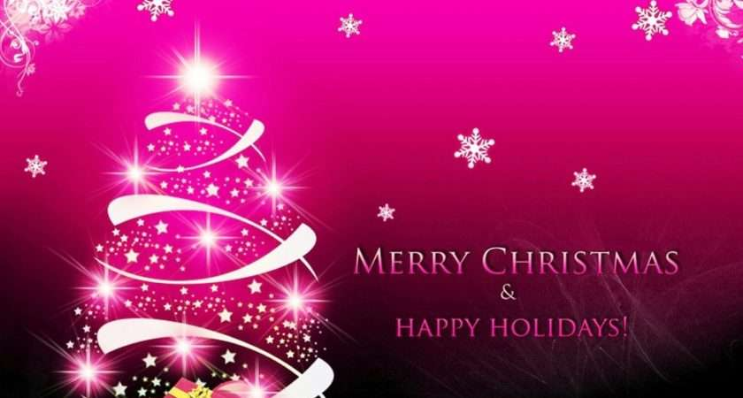 Have Pink Christmas Forwallpaper