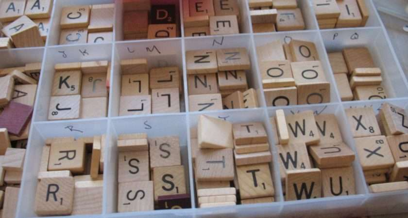 Have Small Batch Letters Organized Craft Storage